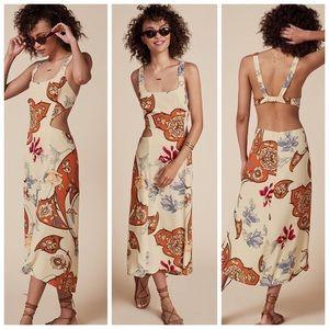 Reformation Nellie Dress - Gerard Print